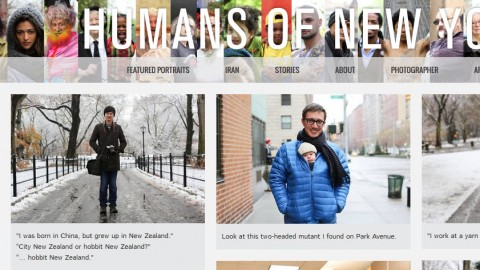 Pretending to be Humans of New York