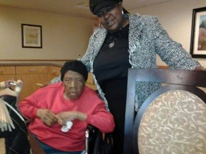 Hurricane Katrina made Wilma Walker's dementia worse. Linda Holloway has been in a  tight financial bind caring for her mom.