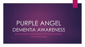 Purple Angel Dementia Awareness