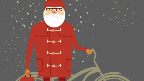 Hipster Santa Goes South